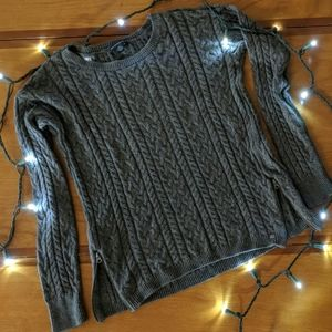 AEO Sweater with Zipper Accents
